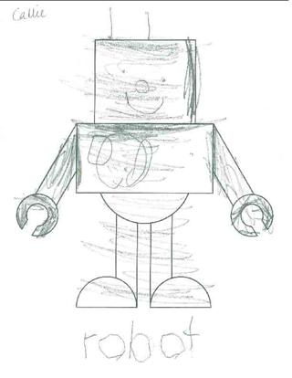 320x414 Draw A Robot