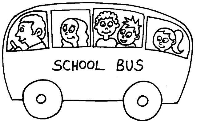 640x396 Bus Clipart Line Drawing