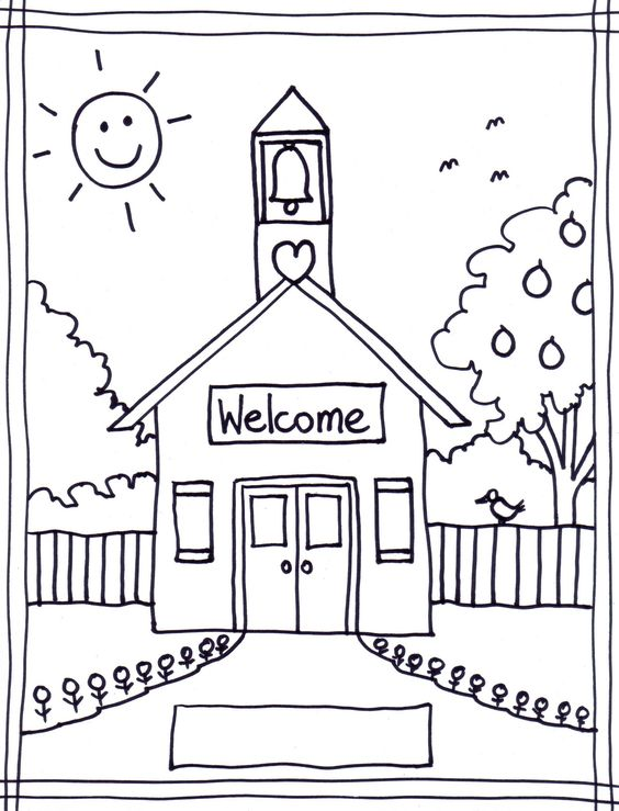 564x739 Back To School Coloring Pages Kindergarten