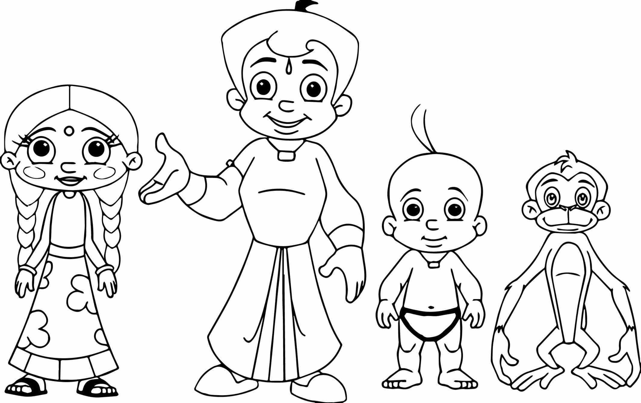 2130x1338 Chota Bheem Pencil Sketch Images Home Spun Around Saturday Art