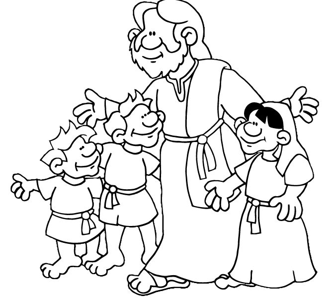 670x600 Sunday School Drawing Pages Coloring Page