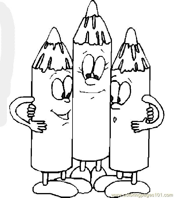 600x680 Back To School Coloring Page
