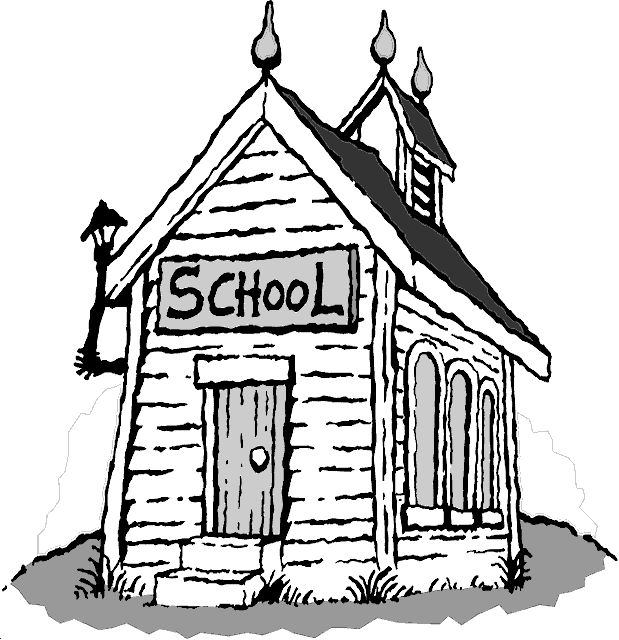 School House Drawing