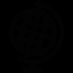 283x283 School Globe Silhouette Silhouette Of School Globe