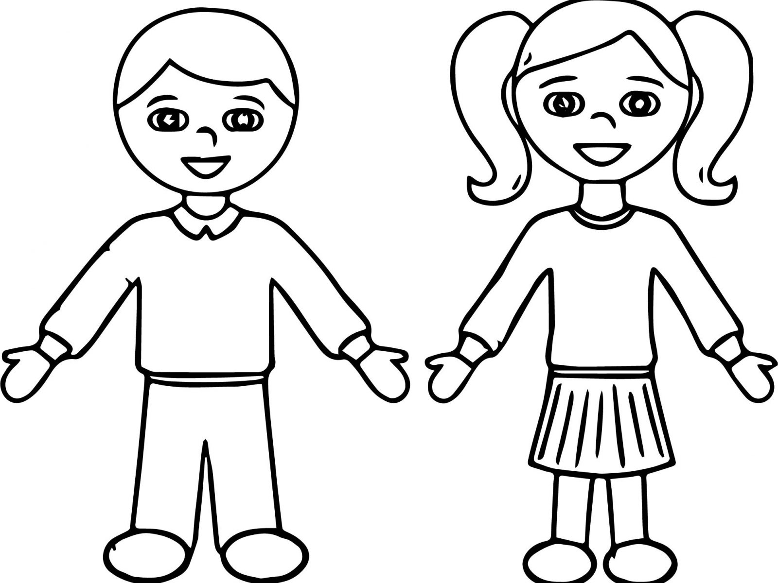 Student boy coloring pages ~ School Students Drawing at GetDrawings.com   Free for ...