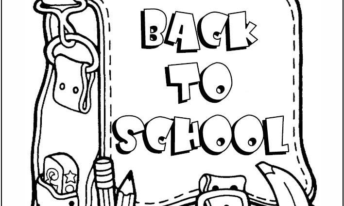 708x425 Exceptional School Supplies Coloring Pages Along Grand Article