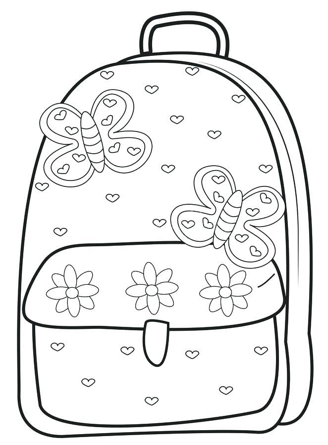 662x900 School Supplies Coloring Page School Supplies Coloring Page School