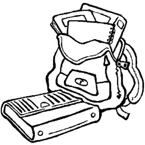 300x300 The School Supplies Are Sets Clipart Panda