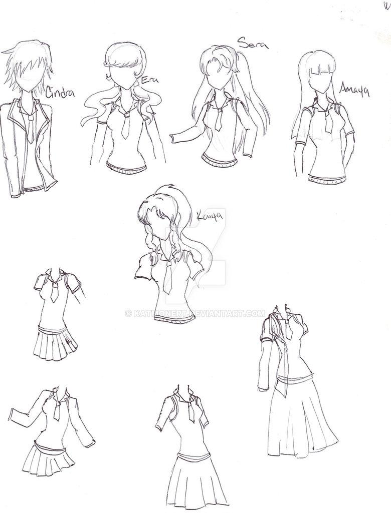 780x1025 Sailor Senshi School Uniform By Katmonert