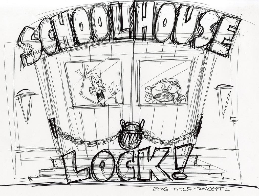 1024x778 Schoolhouse Lock Title Card Concept Episode