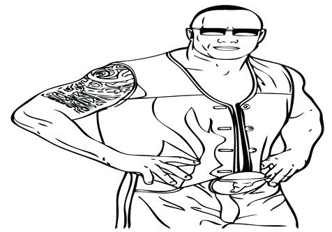 476x333 The Rock Coloring Pages Roman Reigns Coloring Pages Of Camp Rock