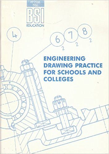 353x499 Bsi Engineering Drawing Practice For Schools And Colleges Amazon