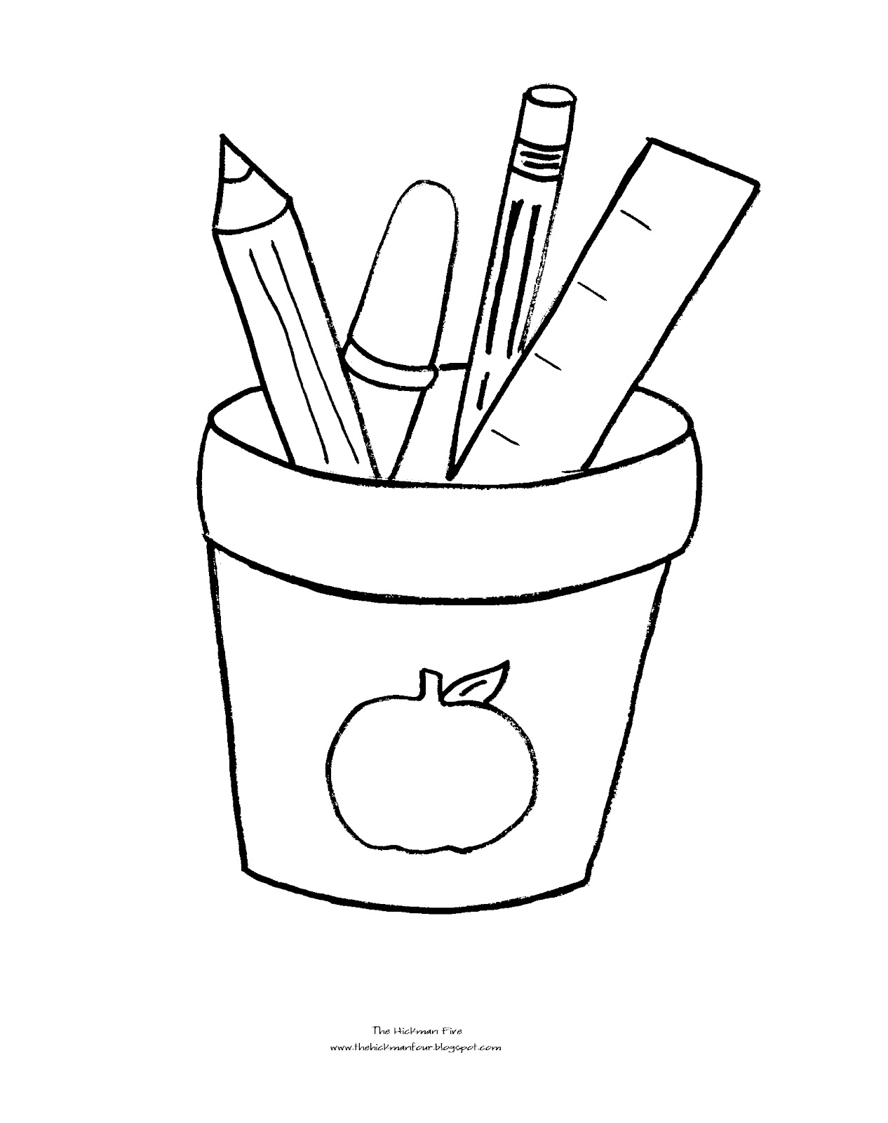 1266x1600 Back To School Coloring Pages