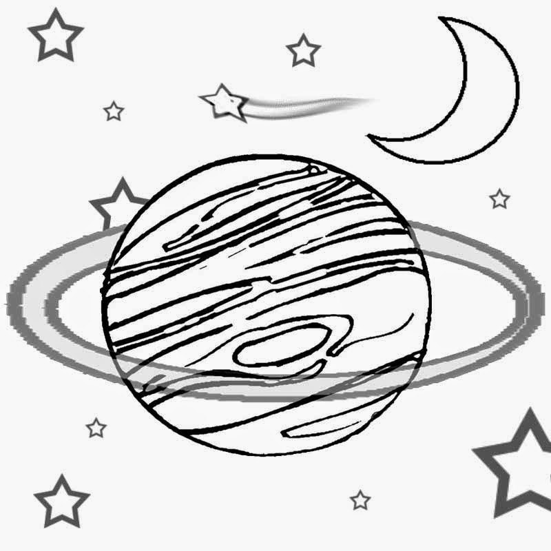 800x800 Kids craft art class lesson free clipart planet and space solar