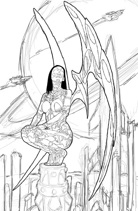 473x720 Painting Process Robot Angel