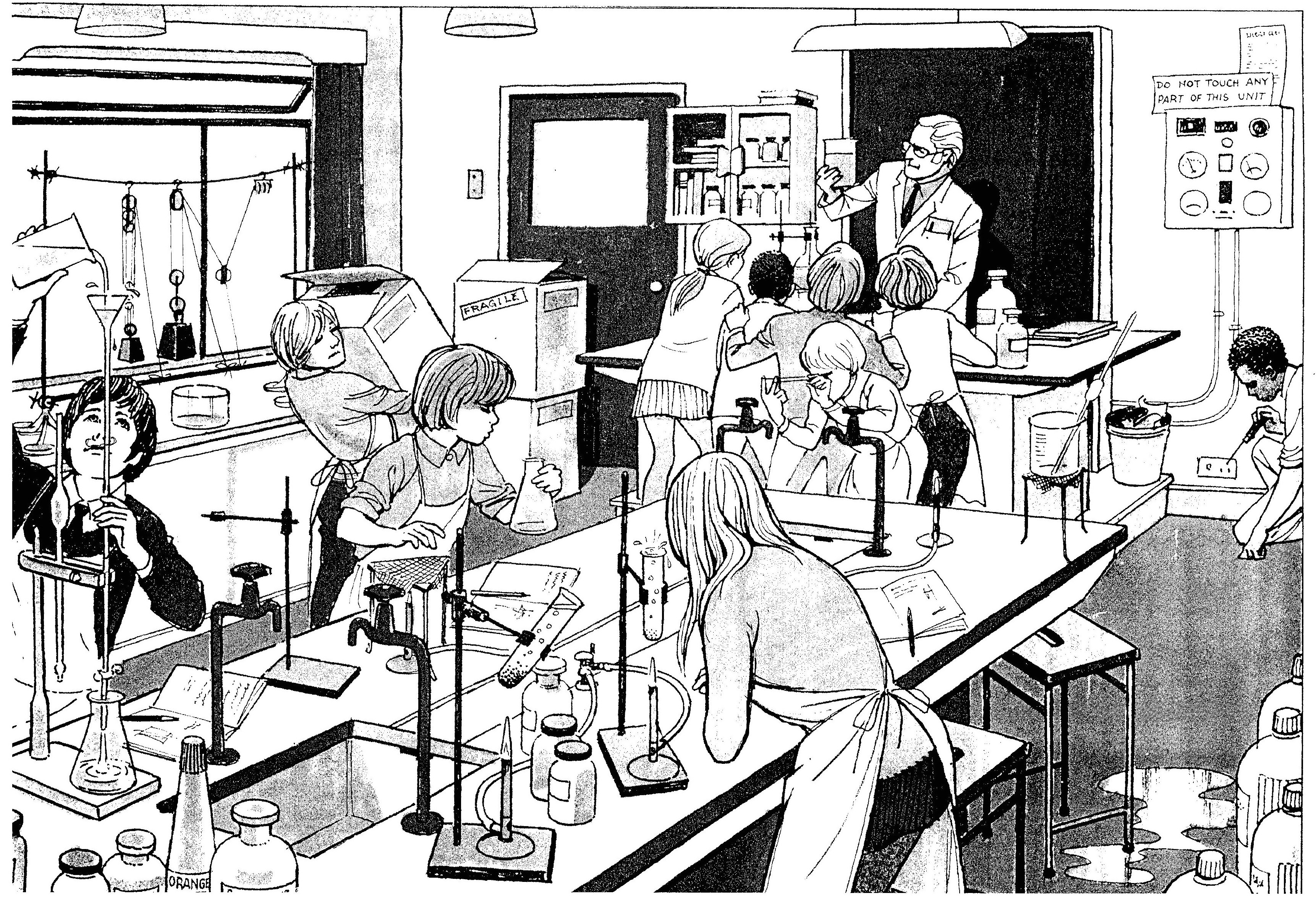 Science Lab Drawing At Getdrawings Free For Personal Use