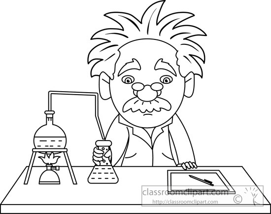 550x434 Science Lab Clipart Black And White Letters Format