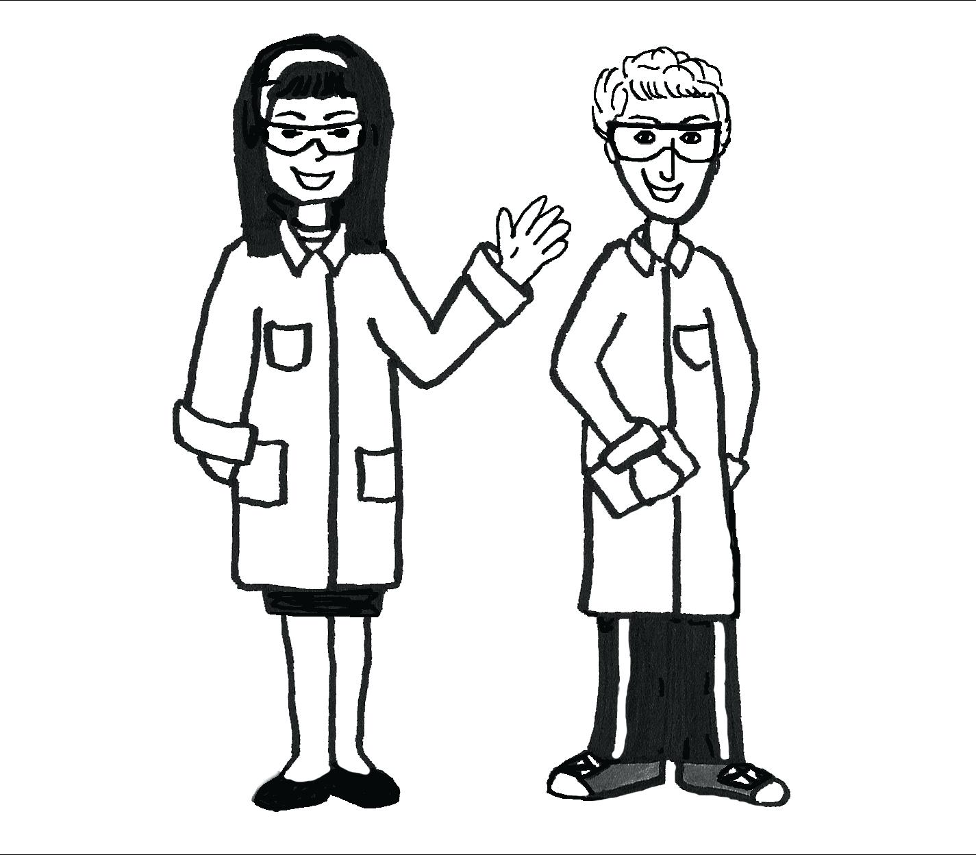 Science Lab Drawing At Getdrawings Com Free For Personal