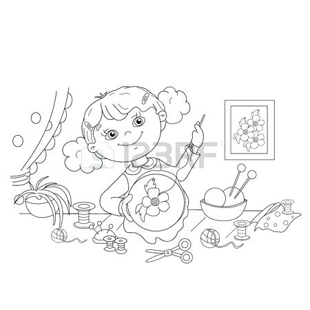450x450 Scissors Coloring Page Coloring Page Scissors Comb Coloring Pages