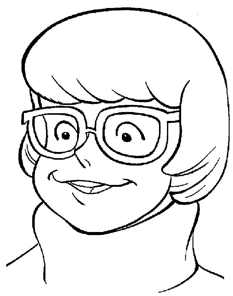 759x962 Scooby Doo Clip Art Scooby Doo Friend Velma Coloring Pages