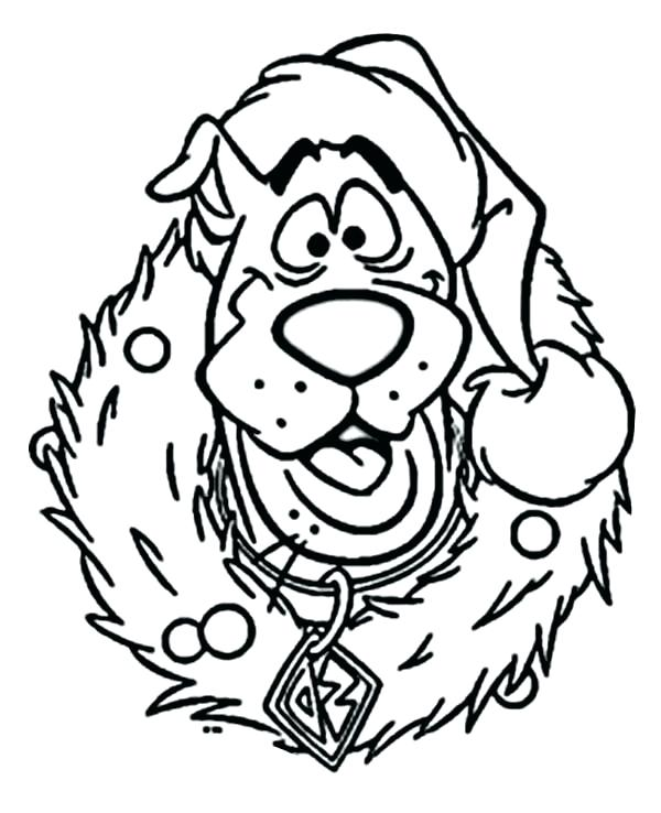 Scooby Doo Face Drawing at GetDrawings | Free download