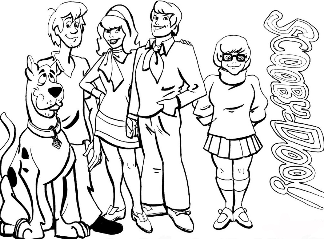 1085x800 Adult Sketches Of Scooby Doo Pencil Sketches Of Scooby Doo