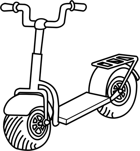 Scooter Drawing At Getdrawings Com