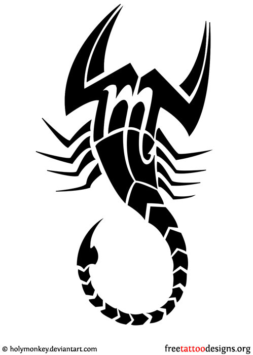 499x700 99 Scorpion Tattoos Scorpio Tattoo Designs