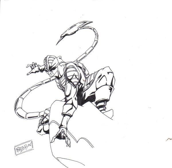 600x589 Scorpion Spiderman Villan By Inc Pty Ltd