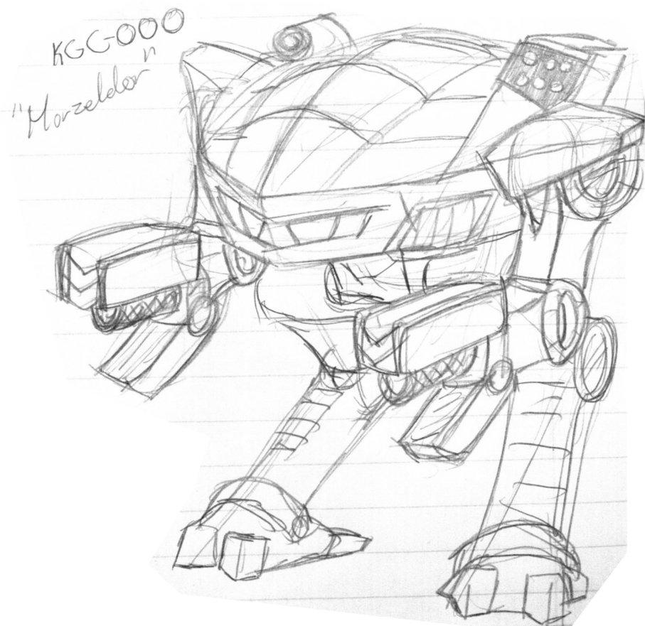 907x881 Mwo Doodles King Crab (2) By Scorpion Strike