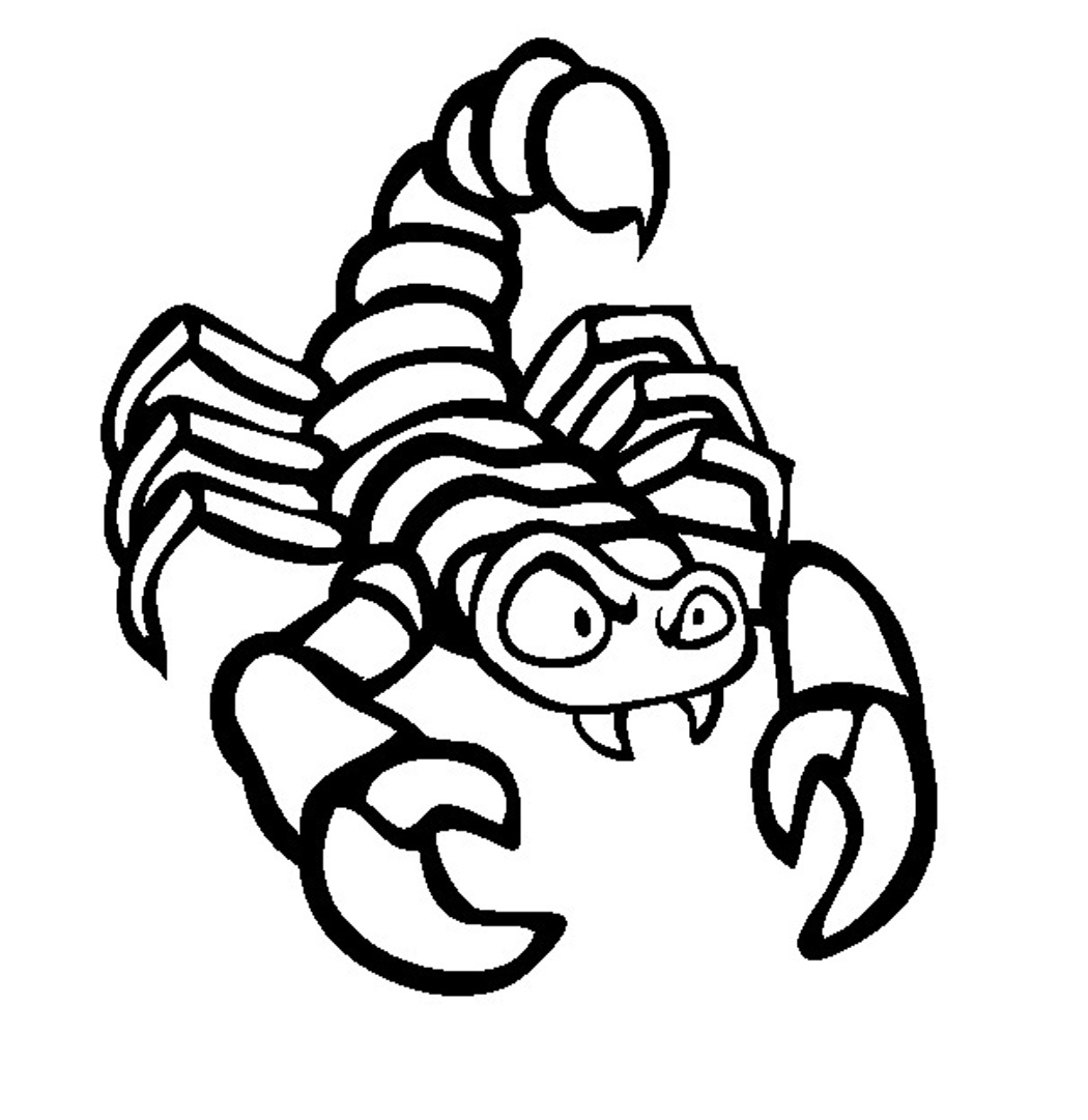 1050x1081 Scorpion Coloring Pages Printable Cool Coloring Pages Eagle