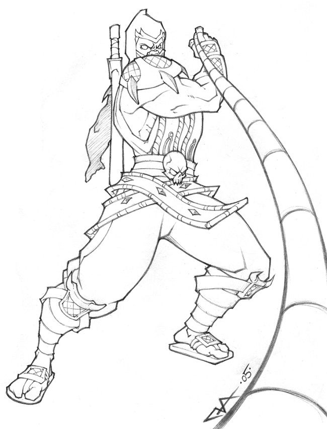 650x852 Scorpions Coloring Pages 328935