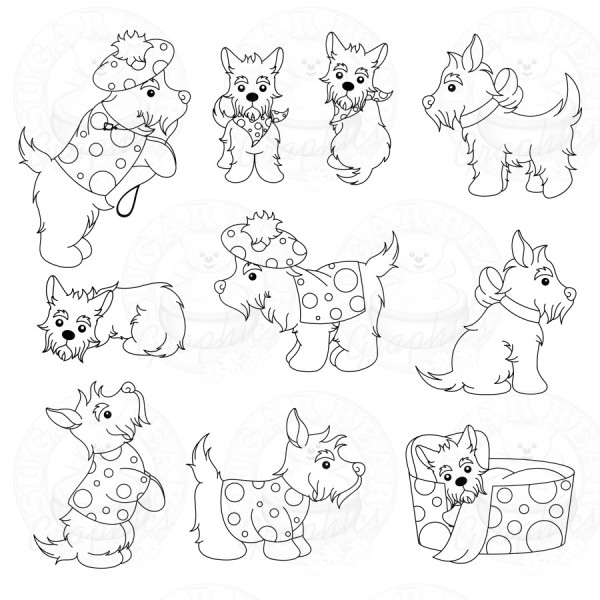 600x600 Best Photos Of Scottie Dog Outline