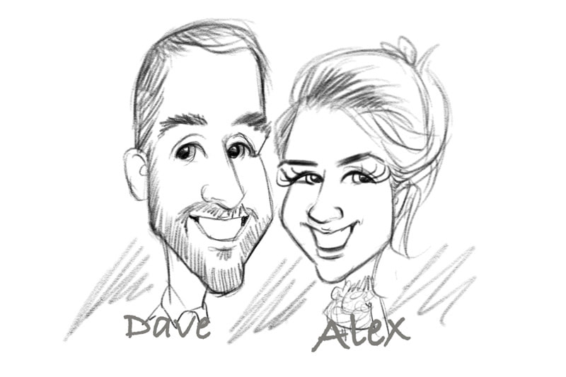 800x533 Corporate Business Event Entertainment Trade Stand Caricaturist