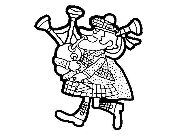 scottish coloring pages | Scottish Drawing at GetDrawings.com | Free for personal ...