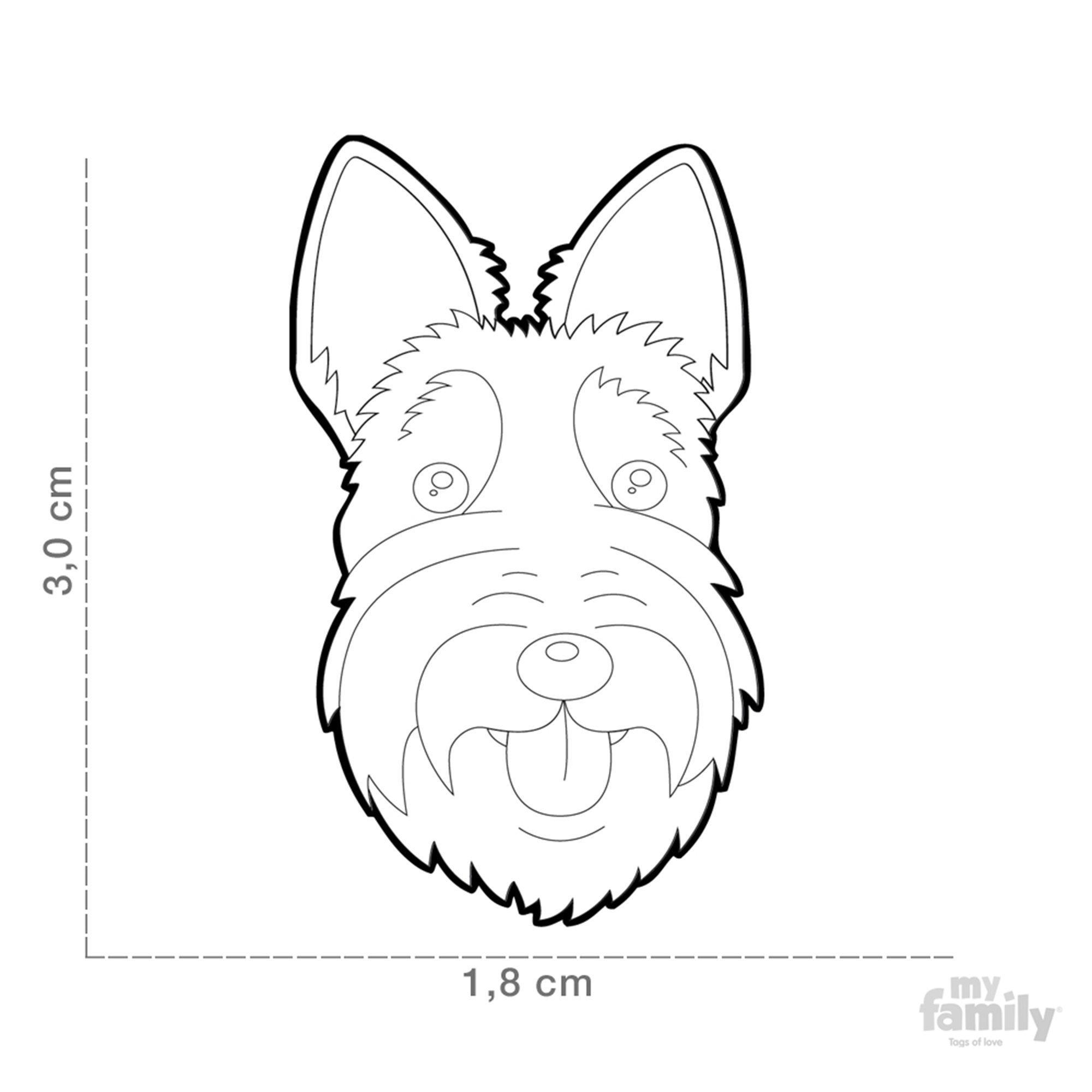 2000x2000 Friends Scottish Terrier Dog I.d. Tag