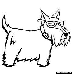 236x241 How To Draw A Scottie Dog Scottie Mania! Dog