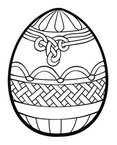 236x292 Ukrainian Easter Egg Coloring Pages
