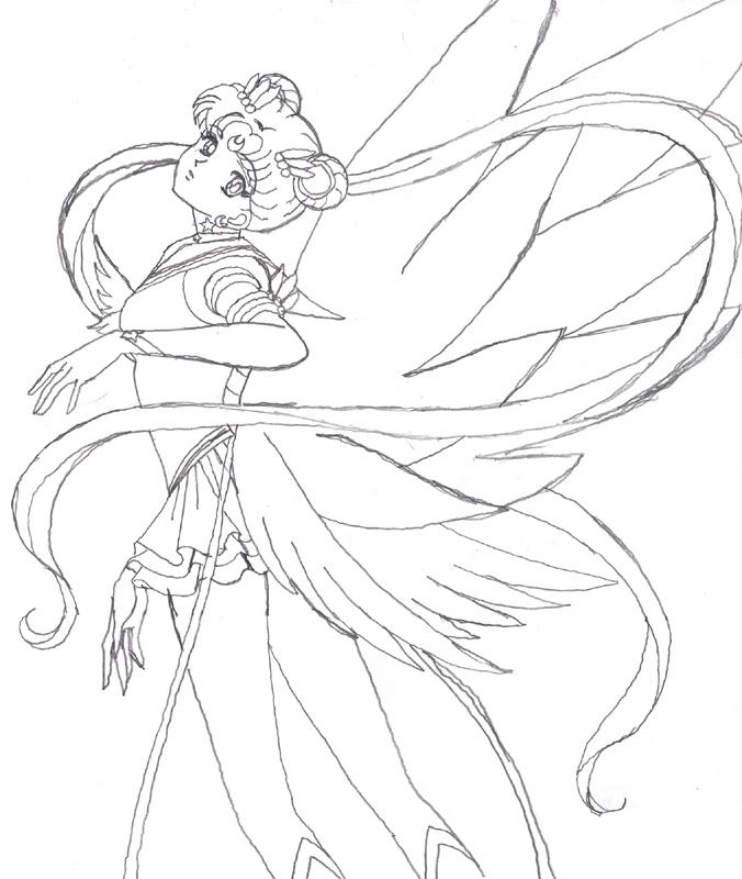 676x800 Eternal Sailor Moon Scrap By Amayakouryuu