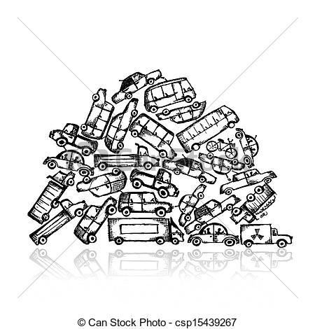 450x470 Scrap Pile Clipart