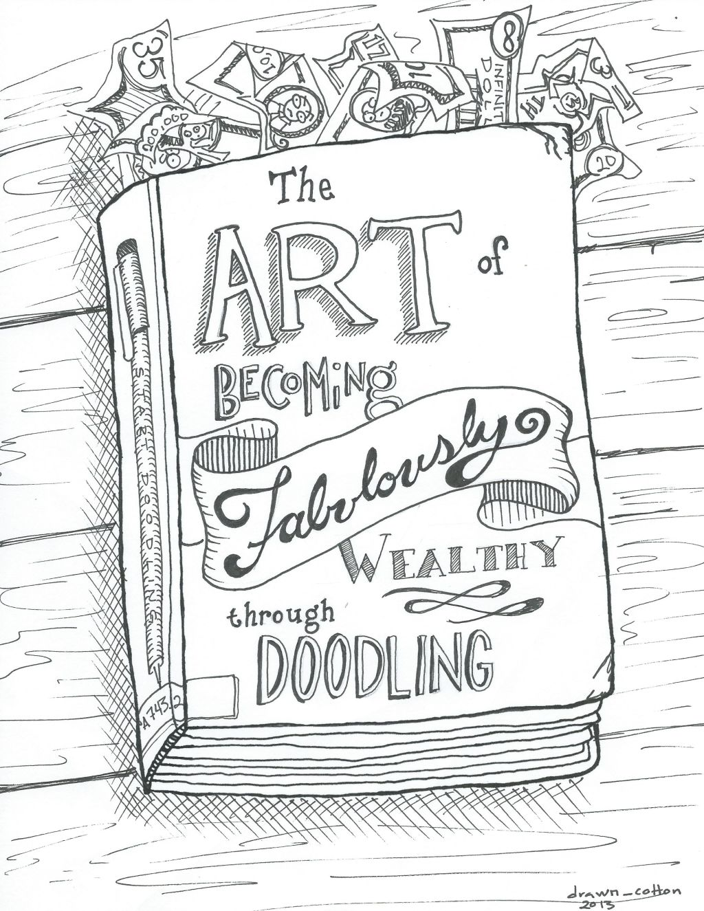 1024x1325 Draw Your Dream Class Doodlers Anonymous Scrap And Sketch