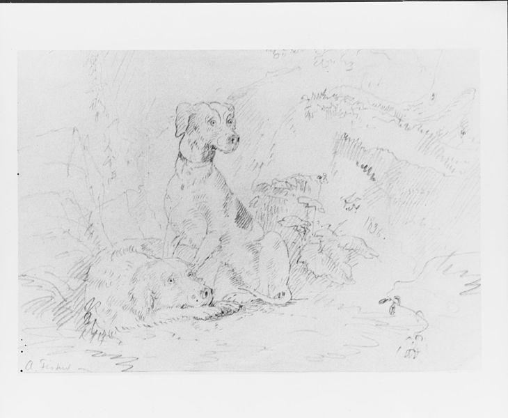730x600 Filescene With Dogs (From Mcguire Scrapbook) Met 65052.jpg