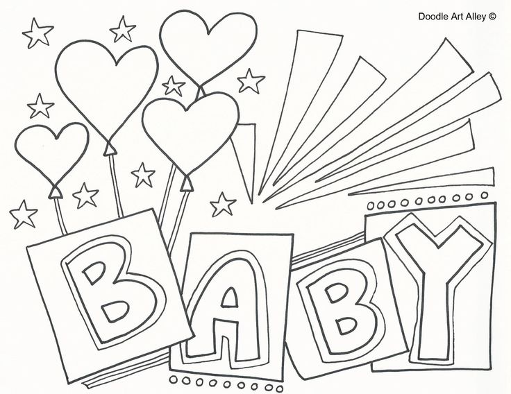 736x568 Baby Scrapbook Page