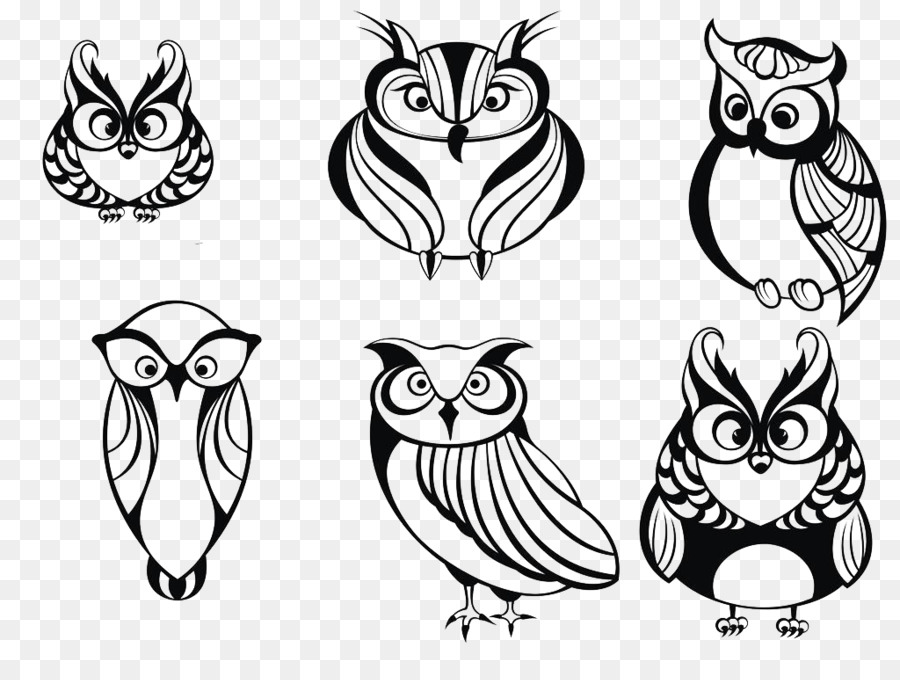 900x680 Owl Drawing Animal Clip Art
