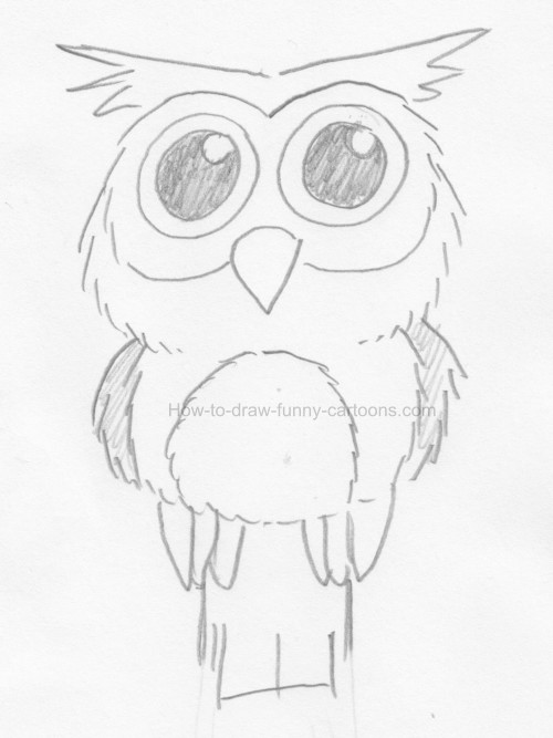 500x667 To Draw An Owl Clip Art