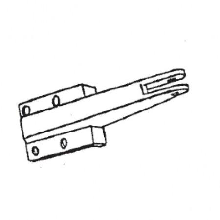 450x450 331 White Plastic Jamb Bracket For Screen Door Barton Kramer Inc.