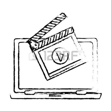 450x450 Play Symbol On Digital Device Screen Movie Or Video Related Icon