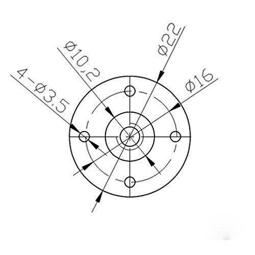 500x500 Riyin T8 L300mm 8mm Lead 4 Start Lead Screw And Nut For 3d Printer