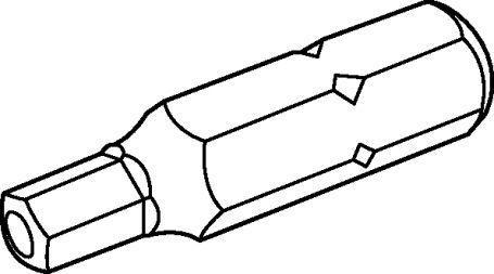 455x253 Hexagonal Head Screw Screwdriver Bit