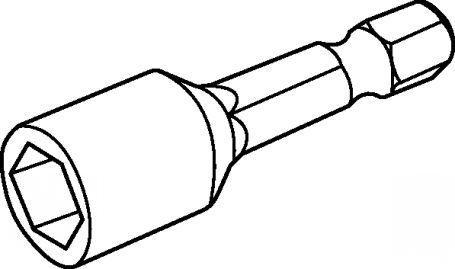 455x269 Hexagonal Head Screw Screwdriver Bit Magnetic